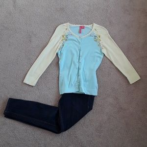 Sweaters - Beautiful embellished sweater size small